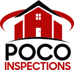 The POCO Inspections logo