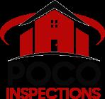 The POCO Inspections logo